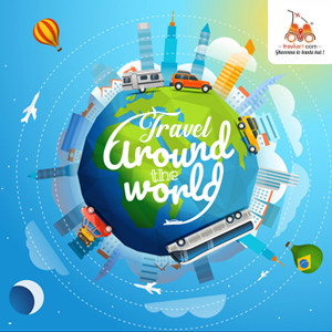 Travel around the globe